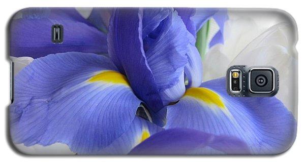 Galaxy S5 Case featuring the photograph Iris Bloom by Arlene Carmel