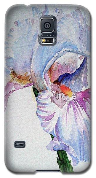 Iris In The Garden Galaxy S5 Case by Sharon Mick