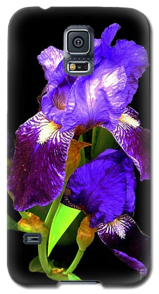 Iris On Black Galaxy S5 Case