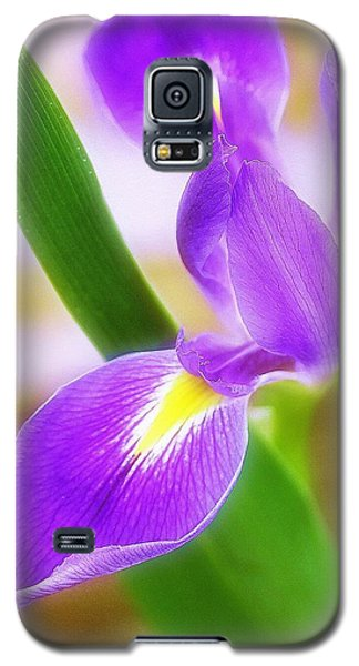Galaxy S5 Case featuring the photograph Iris On Pointe by Judi Bagwell