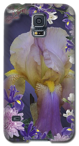 Iris Within Galaxy S5 Case by Rick Friedle