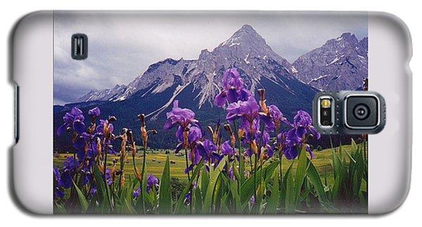 Irises In Austria Galaxy S5 Case