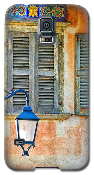 Italian Street Lamp With Window And Decorated Wall Galaxy S5 Case