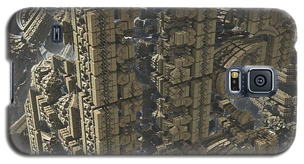 Science Fiction Galaxy S5 Case - It's A Long Way Down by Jacob Bettany