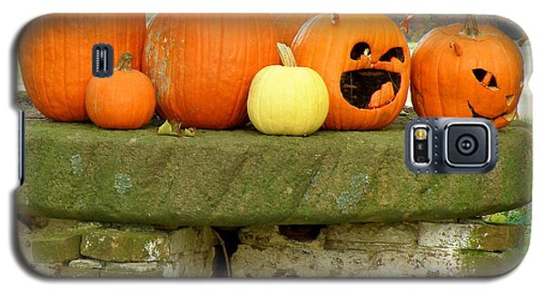 Galaxy S5 Case featuring the photograph Jack-0-lanterns by Lainie Wrightson