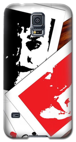 Jack Nicholson - The Joker's Crooked Card Game Galaxy S5 Case