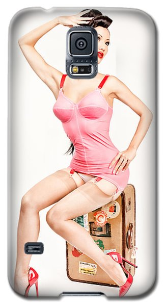 Jade Vixen Bubblegum 1076 Galaxy S5 Case