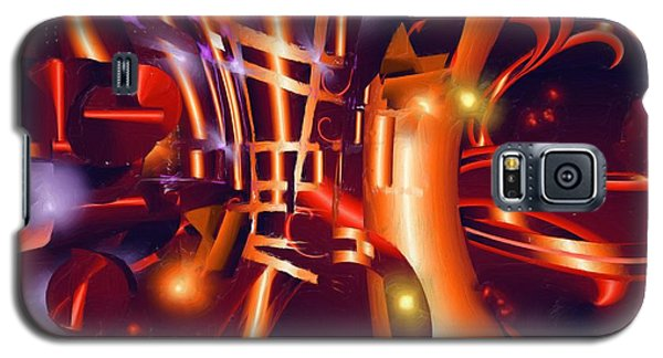 Jazz And Light Galaxy S5 Case by Hai Pham