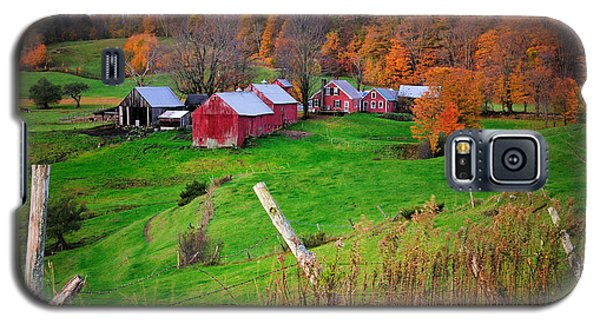 Jenne Farm-autumn Scenic From Reading Vermont  Galaxy S5 Case
