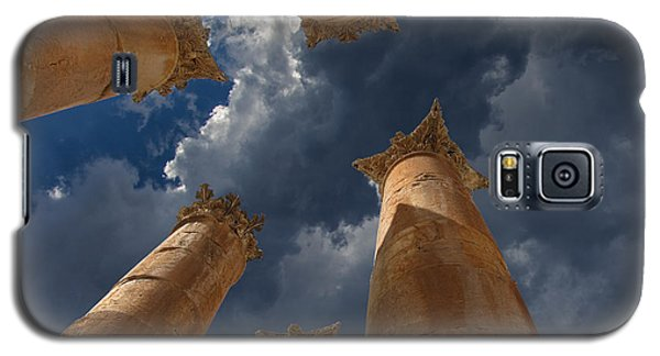 Galaxy S5 Case featuring the photograph Jerash by David Gleeson
