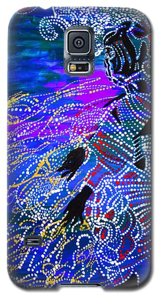 Galaxy S5 Case featuring the painting Jesus Reaps His Harvest by Gloria Ssali