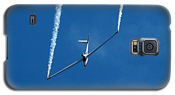 Galaxy S5 Case featuring the photograph Jet Powered Glider by Nick Kloepping