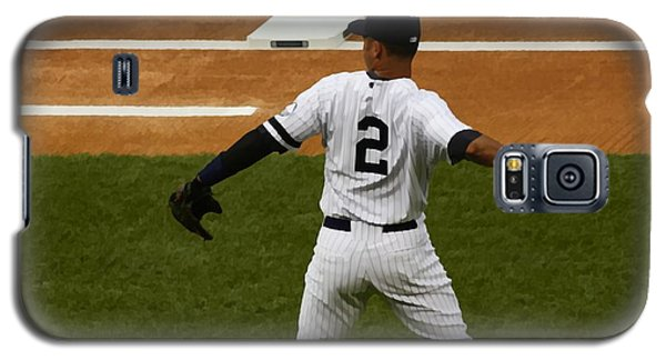 Galaxy S5 Case featuring the photograph Jeter by Michael Albright