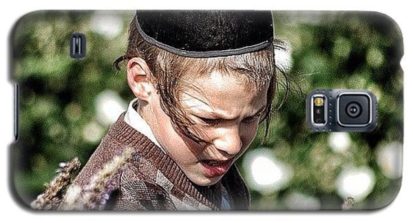 Religious Galaxy S5 Case - Jewish Boy - New York by Joel Lopez