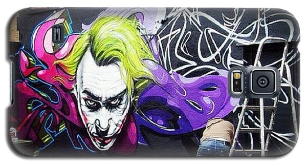 Superhero Galaxy S5 Case - #jody#flx#bristolgraffiti #bristolart by Nigel Brown
