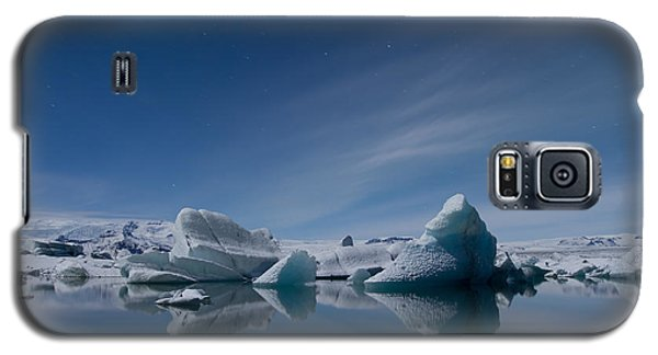 Jokulsarlon At Night Galaxy S5 Case by Andres Leon