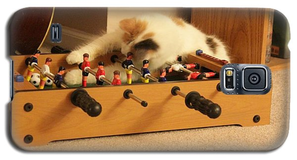 Galaxy S5 Case featuring the photograph Jolie-boo Foosball by Rdr Creative