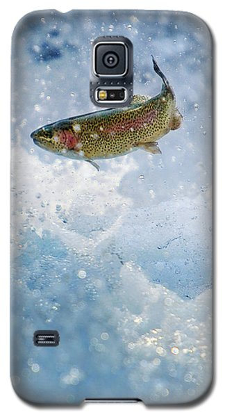 Jumping Trout 1 Galaxy S5 Case