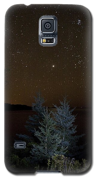 Jupiter  Over Otter Point 2 Galaxy S5 Case by Brent L Ander
