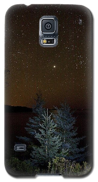 Jupiter  Over Otter Point 3 Galaxy S5 Case by Brent L Ander