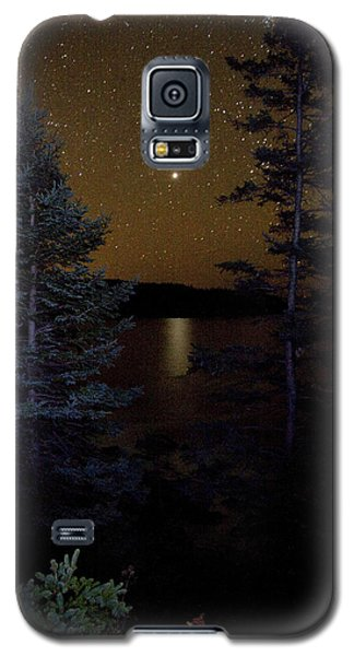 Jupiter Rising Over Otter Point Galaxy S5 Case by Brent L Ander
