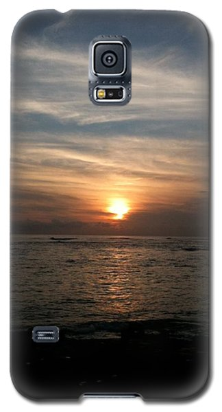 Galaxy S5 Case featuring the photograph Kauai Sunset by Carol Sweetwood