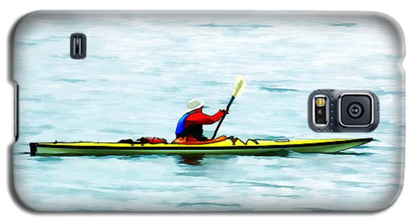 Kayak Out On The Bay Galaxy S5 Case by Tracie Kaska