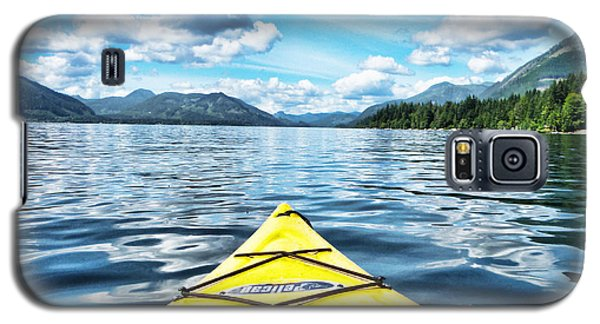 Kayaking In Bc Galaxy S5 Case