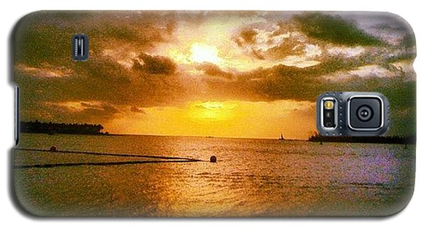 Sunset Galaxy S5 Case - Key West by Bill Cannon