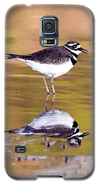 Killdeer Reflection Galaxy S5 Case by Betty LaRue