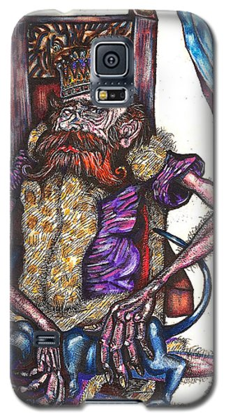 King Crabclaw And His Blue Dachshund Galaxy S5 Case