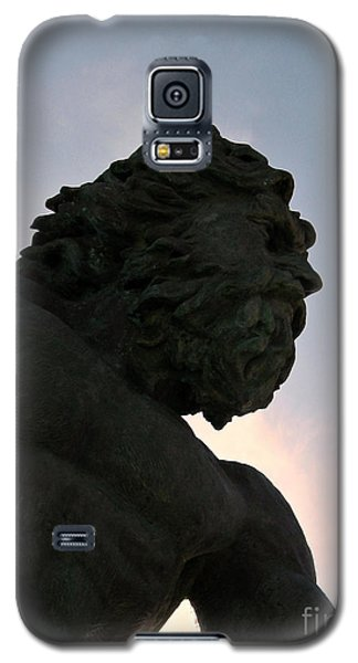 Galaxy S5 Case featuring the photograph King Of The Sea II by Nancy Dole McGuigan