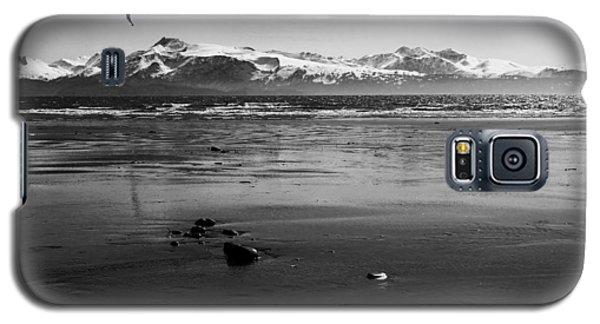 Kite Surfer On An Alaskan Beach Galaxy S5 Case