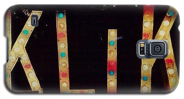 Light Galaxy S5 Case - Klik by Natasha Marco