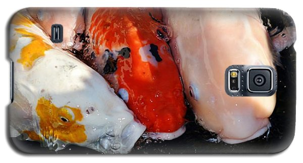 Galaxy S5 Case featuring the photograph Koi Fish by Werner Lehmann