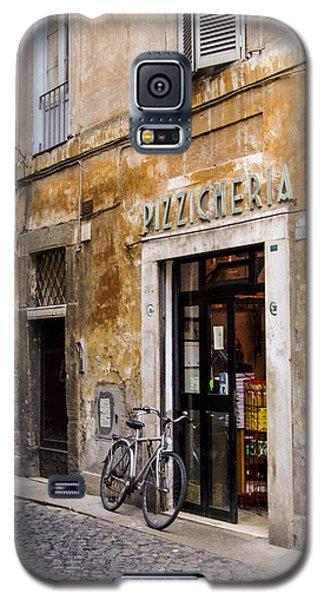 Galaxy S5 Case featuring the photograph La Bicicletta by Marta Cavazos-Hernandez