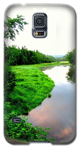 Galaxy S5 Case featuring the photograph Lacwilliam  St-ferdinand Quebec by Danielle  Parent