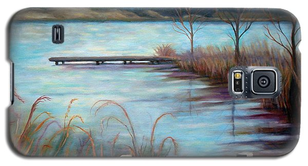 Lake Acworth Dock Galaxy S5 Case