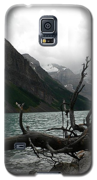 Galaxy S5 Case featuring the photograph Lake Louise by Laurel Best