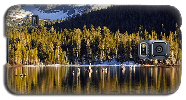 Galaxy S5 Case featuring the photograph Lake Mary Reflections by Lynn Bauer