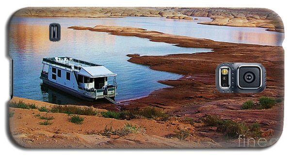 Lake Powell Houseboat Galaxy S5 Case