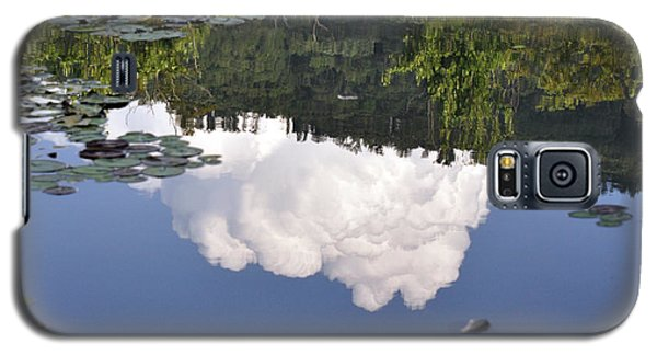 Galaxy S5 Case featuring the photograph Lake Reflection by Kay Lovingood