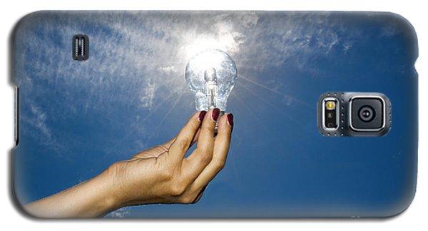 Lamp Bulb Galaxy S5 Case