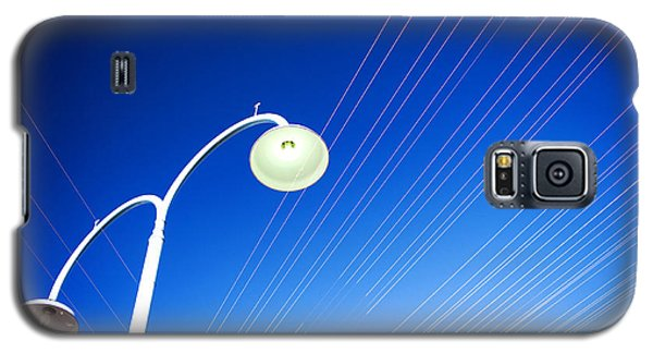 Lamp Post And Cables Galaxy S5 Case