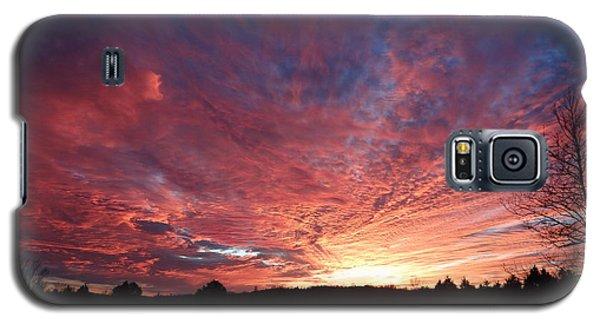 Lascassas Sunset Two Galaxy S5 Case by Carol Berning