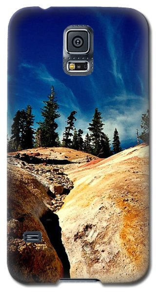 Galaxy S5 Case featuring the photograph Lassen Volcanic National Park by Peter Mooyman