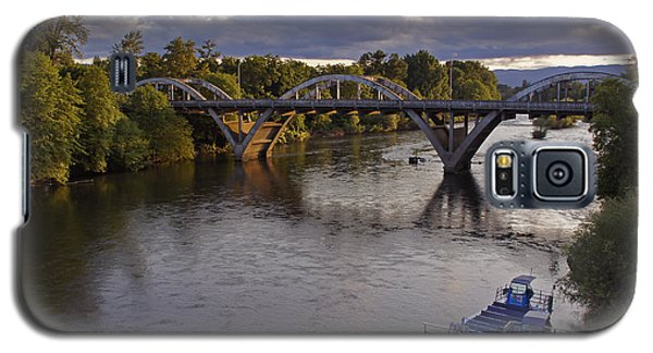 Last Light On Caveman Bridge Galaxy S5 Case by Mick Anderson