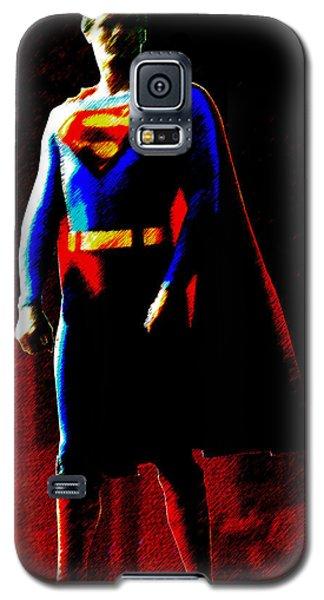 Last Son Of Krypton Galaxy S5 Case by Saad Hasnain