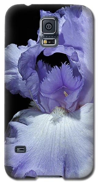 Lavender Blue Iris Galaxy S5 Case