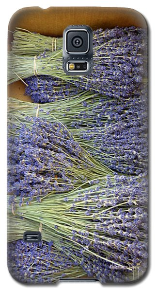 Galaxy S5 Case featuring the photograph Lavender Bundles by Lainie Wrightson